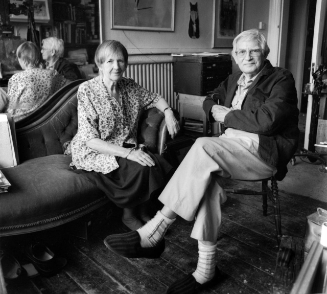 Armfield, Diana and Bernard Dunstan; Kew 4-08_01