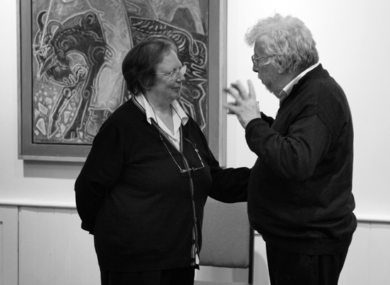 Freedman, Amelia and H.Birtwistle; London, 2012-03 bw