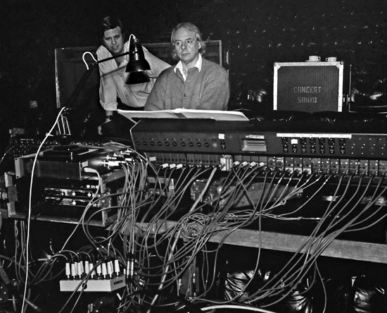 Stockhausen, Karlheinz; composer, 1988-11 cs